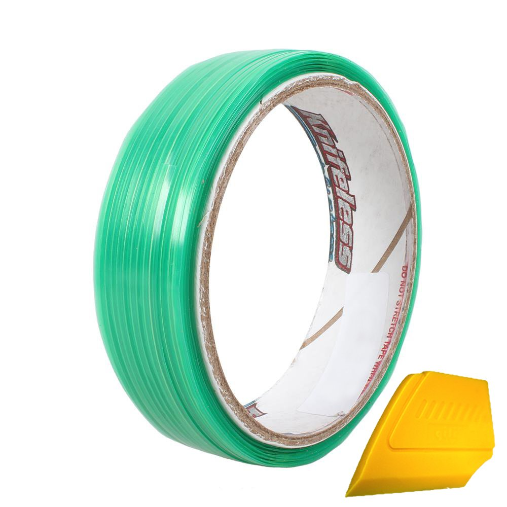 VViViD Knifeless Vinyl Wrap Cutting Tape Finishing Line 10M Plus 3M Toolkit (10m (30ft) roll + Detailer)