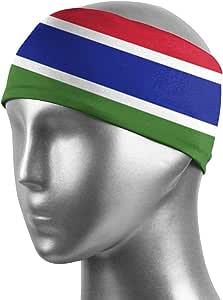 Amazon.com : CUW BBCUW Gambia Flag Sports Sweatbands