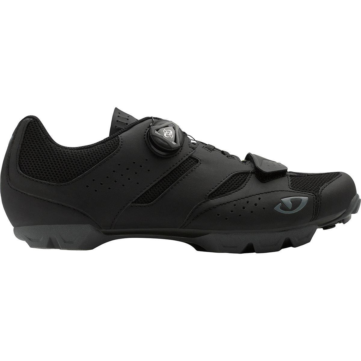 Giro円柱HV +サイクリング靴 – Men 's 43 M EU ブラック   B075RP8JKT