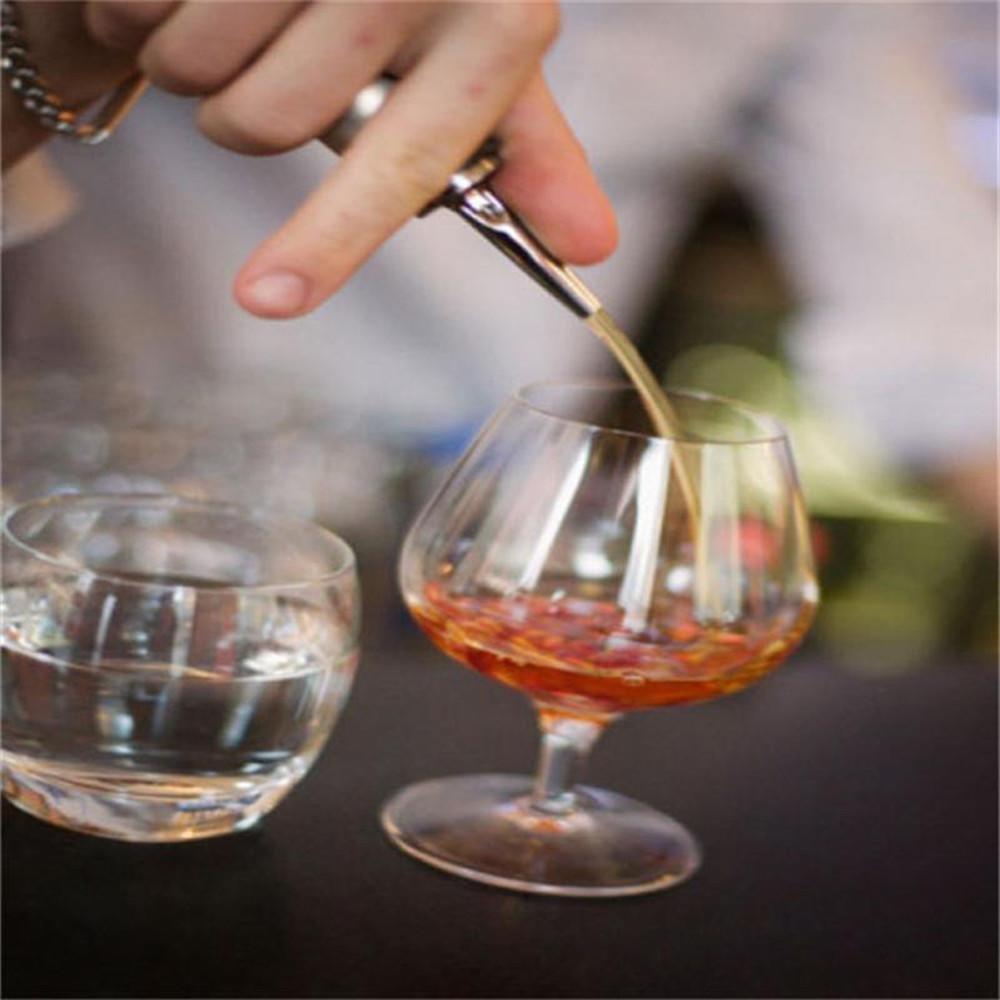 FTXJ Stainless Steel Cap Liquor Spirit Pourer Cocktail Wine Stopper (B) by FTXJ (Image #2)