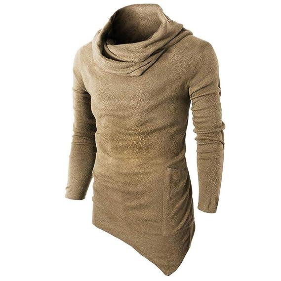 0dc634497 Suéter de Hombre Otoño Invierno Jersey Slim Tops Prendas de Punto de Hombre  Sudadera para Hombre BBestseller