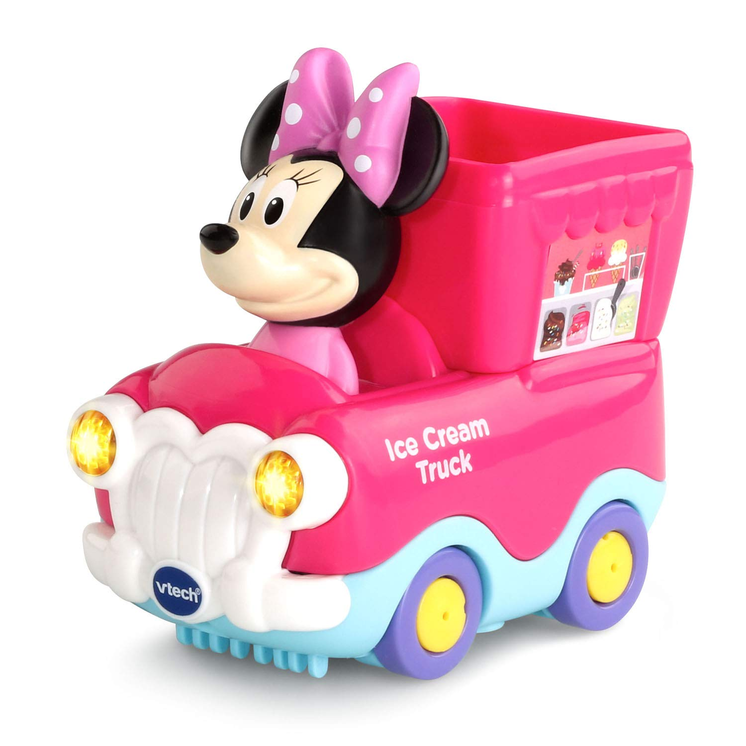 VTech Go! Go! Smart Wheels Minnie Mouse Ice Cream Parlor by VTech (Image #8)