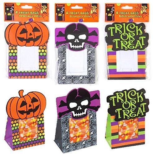 Amazon.com : Flomo Halloween Paper Treat Sacks(pack Of 72 ...