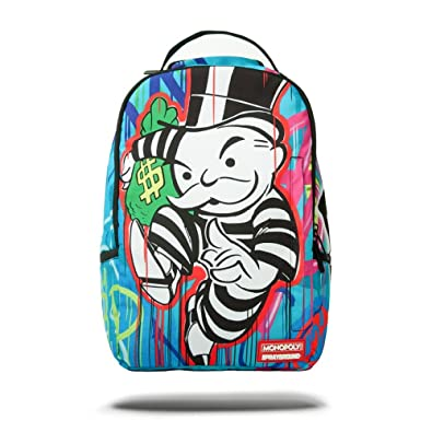 ad0843e9b09e SPRAYGROUND BACKPACK - MONOPOLY ON THE RUN  Amazon.co.uk  Shoes   Bags