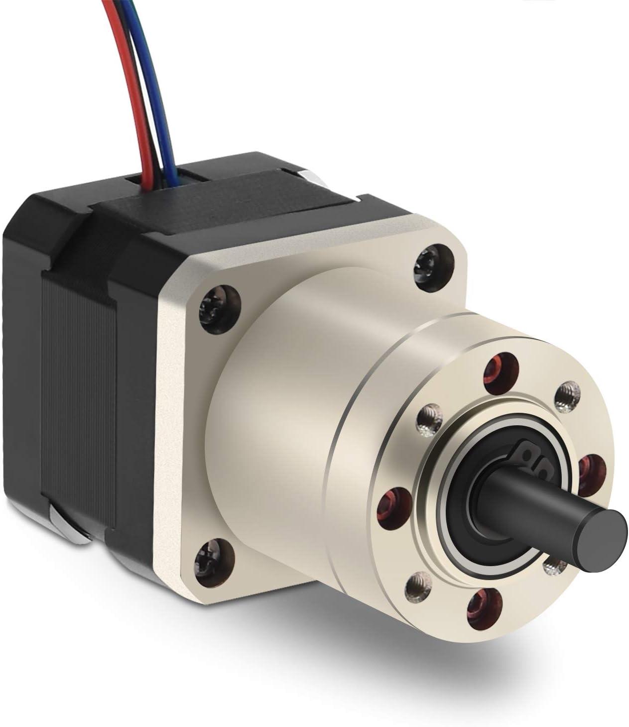 Twotrees 27:1 Planetary Gearbox High Torque Nema 17 Stepper Motor 3D Printer DIY Camera