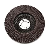 10Pack 4 inch Premium High Density Calcined Aluminum Oxide Flap Disc 80 Grit