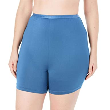 933cb3371b47eb Comfort Choice Women's Plus Size 2-Pack Cooling Boxer - Blue Pack, ...
