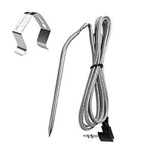 Replacement high Temperature Meat Probe, Suitable for Camp Chef Pellet Grill, 3.5mm Plug