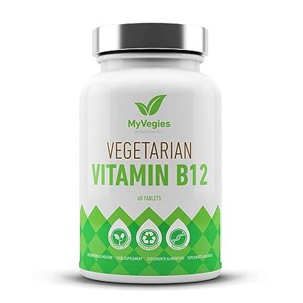 Vitamina B12 vegetariana 60 comprimidos