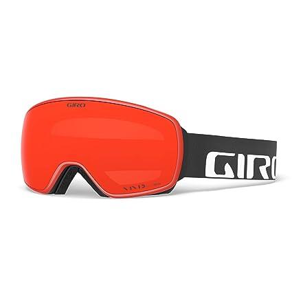 863c819c3743 Amazon.com   Giro Agent Snow Goggles Black Wordmark - Vivid Ember ...