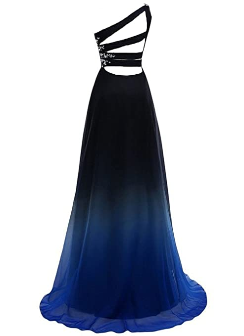 YSK Womens Gradient Color Prom Dresses Long Ombre Evening Dresses: Amazon.co.uk: Clothing