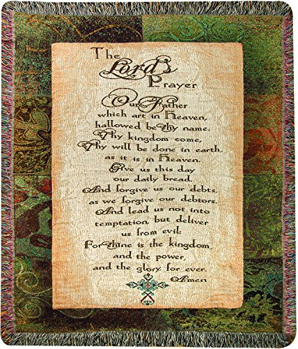 MW The Lord's Prayer Mou50X60 Tapestry Throw 50X60