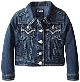 Levi's Girls' Tanya Thick Stitch Denim Jacket, Blue Wonder, 6X