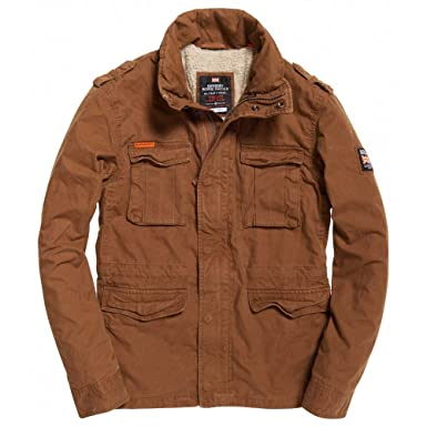 Superdry Chaqueta Rookie Military Rusty S Tostado: Amazon.es ...