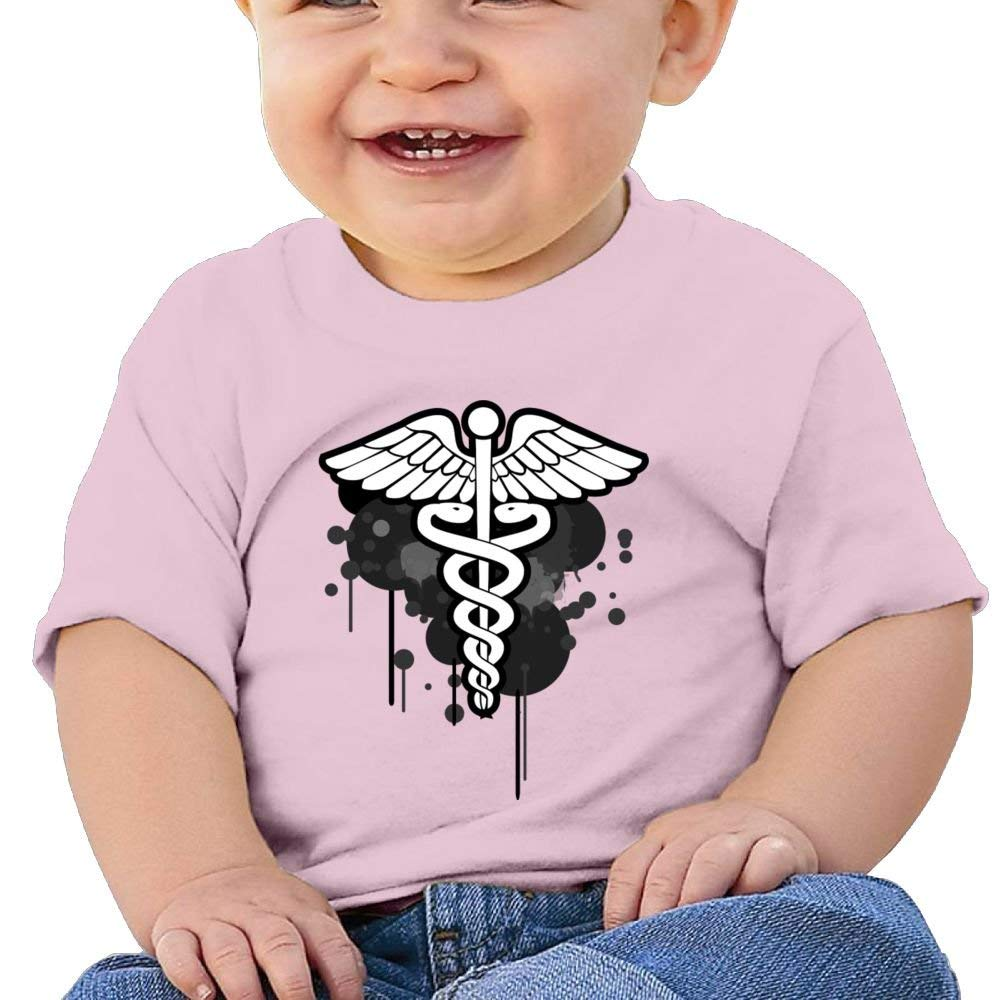 Cute Short Sleeves T Shirt Printed Medical Birthday Day Baby Boy Toddler