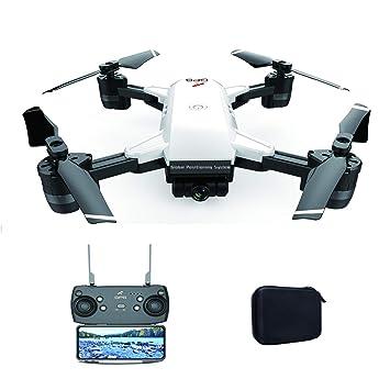 JIANCHI Mini RC Drone, aeronave GPS 5G WiFi FPV, Motor sin ...