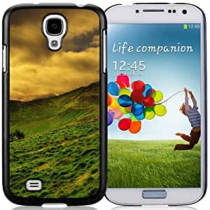New Beautiful Custom Designed Cover Case For Samsung Galaxy S4 I9500 i337 M919 i545 r970 l720 With Orange Landscape Phone Case
