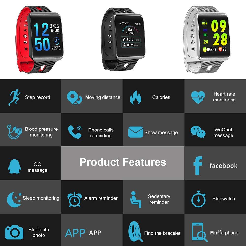 P12cheng Reloj Inteligente de Salud y Fitness, Monitor de ...