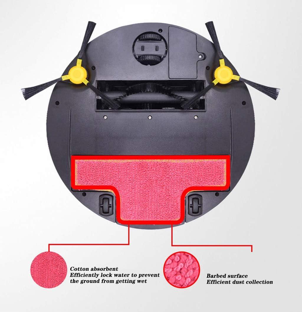 LHY Kitchen Aspirateur Robot, Aspirateur Automatique Multifonction Trois en Un Intelligent désinfection des ménages Sweeper Grande Aspiration à Faible Bruit,d\'or Silver
