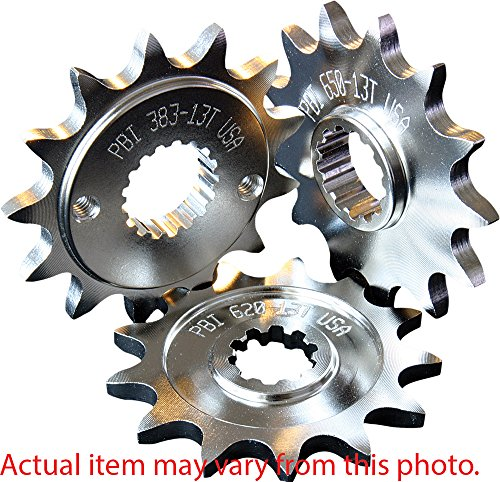 - PBI Steel Front Sprocket - 16T , Sprocket Position: Front, Sprocket Teeth: 16, Color: Natural, Material: Steel, Sprocket Size: 525
