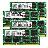 Transcend JetMemory 32 GB DDR3L 1600 SO-DIMM 2Rx8 TS32GJMA584H (8 GB x 4 | Mac Compatible) 32 DDR3 1600 (PC3 12800) DDR3 1600