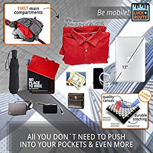 Sling Bag Crossbody & Over Shoulder - Spacious Sling Pack – Women & Men Compact Sling Backpack Grey - Best Organizer for Study, Sport, Travel, Camping, Walking, Hiking