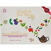 English Tea Shop - Super Tea Collection, koffeinfrei, BIO, 6 Sorten, 48 Teebeutel