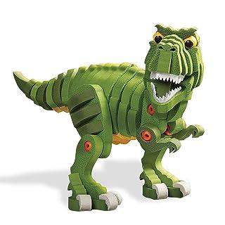 ADDG Blocchi Costruzione di Schiuma Giocattoli per Bambini Genitore-Bambino interazione assemblaggio Tyrannosaurus Rex Modello