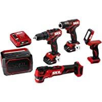 SKIL PWRCore 12 5-Tool 12-Volt Brushless Power Tool Combo Kit Deals