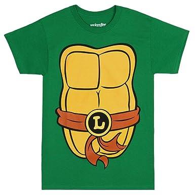 91c326425c5 Amazon.com  Teenage Mutant Ninja Turtles Adult Costume T-Shirt  Clothing