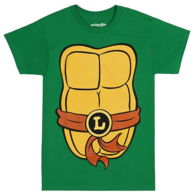 Teenage Mutant Ninja Turtles - Camiseta para Adulto: Amazon ...