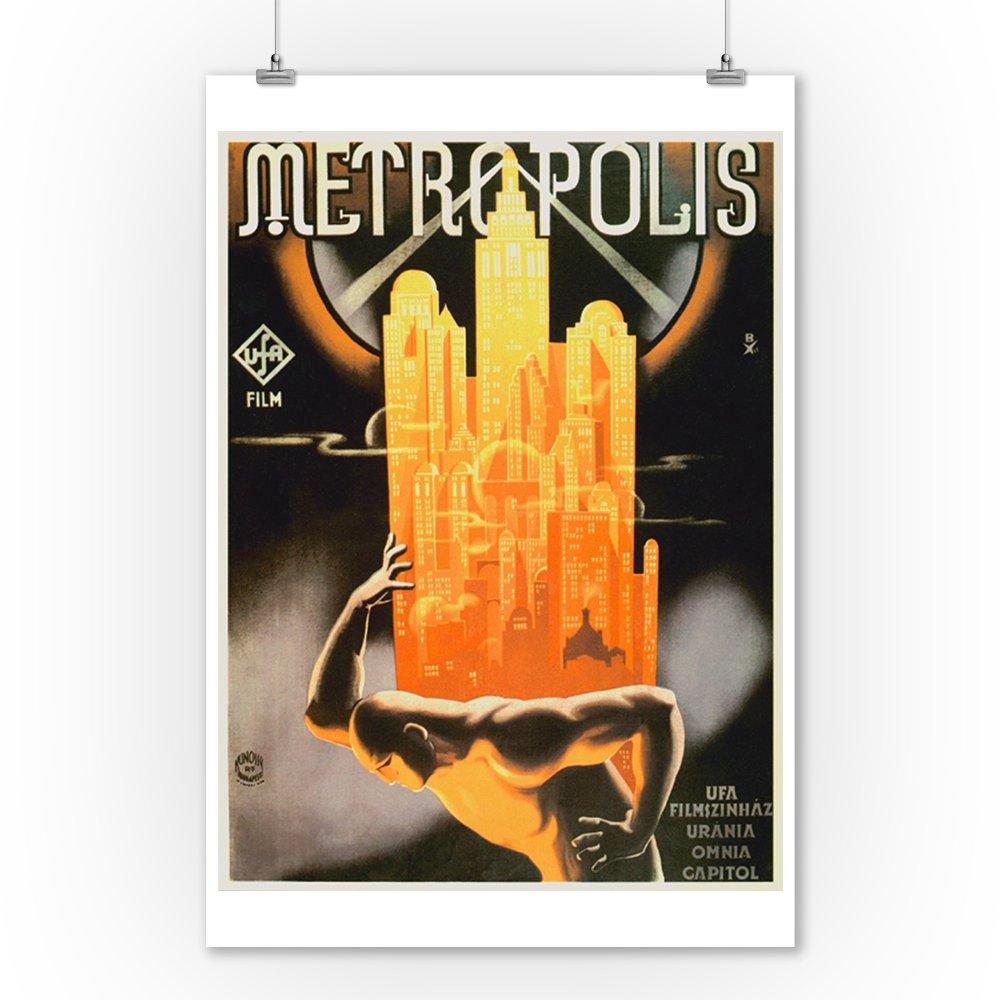 Amazon.com: Metropolis clásico Póster de Hungría (9 x 12 ...