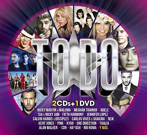 (TODO [ 2 CD'S + 1 DVD] CARLOS RIVERA,SIN BANDERA,YANDEL,REIK Y MAS..)