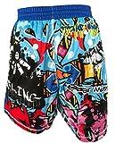 TRI-TITANS Graffiti Wrestling MMA BJJ Fight Shorts