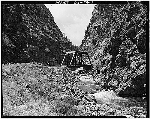 Photo: Deansbury Bridge,South Platte River,Waterton,Jefferson County,Colorado,CO (Halloween Denver Co)