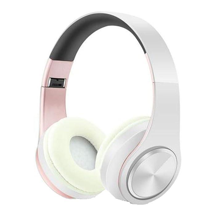 Auriculares inalámbricos Plegables con Bluetooth, Compatible ...