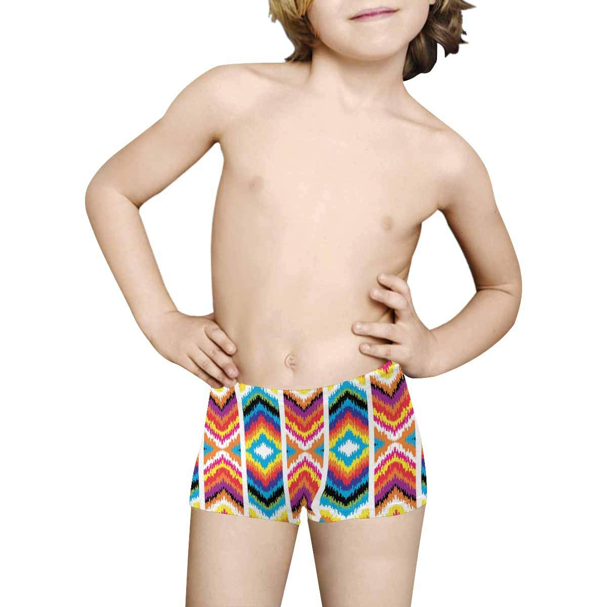 5T-2XL INTERESTPRINT Boys Abstract Background ComfortSoft Printed Boxer Briefs