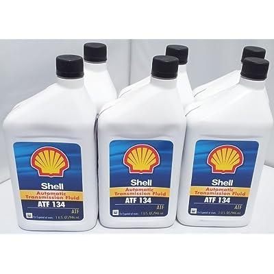 Shell ATF 134 Mercedes Benz Transmission Fluid 236.14 236.12 x 6 Bottles: Automotive