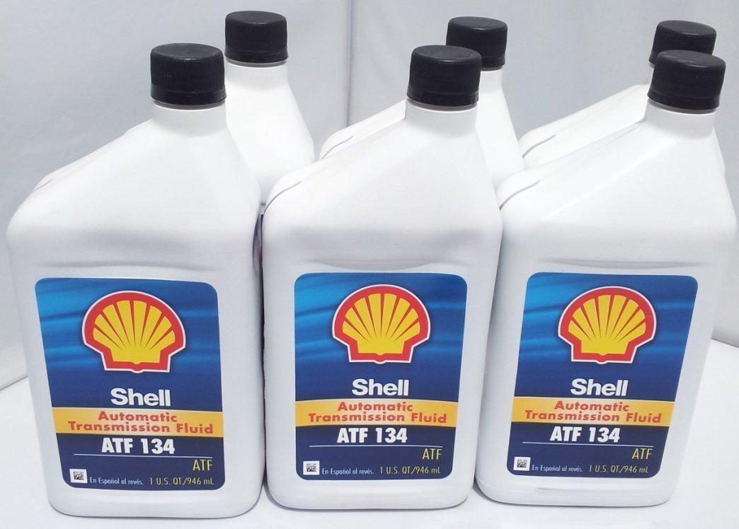 Shell ATF 134 Mercedes Benz Transmission Fluid 236.14 236.12 x 6 Bottles