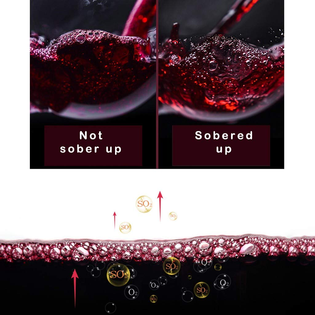 Sonmer Sorbo Portable Automatic Wine Fast Sober Up Decanter Separator (Gold) by Sonmer (Image #3)