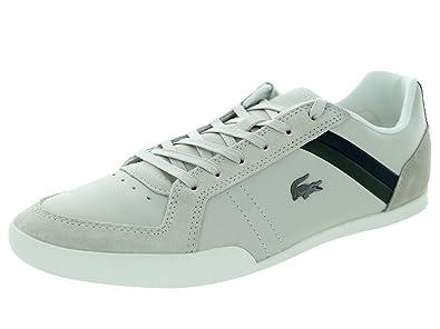 d1b7f760c1 Lacoste Men s Figuera 3 SRM Off White Casual Shoe 10.5