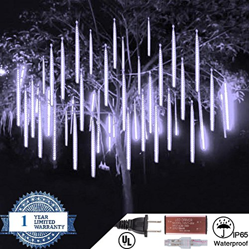 360 White Led Icicle Lights - 5