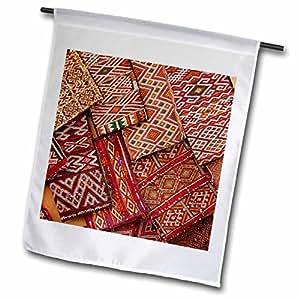 Danita Delimont - Textiles - Woven Fabrics, Essaouira, Morocco-AF29 WSU0193 - William Sutton - 18 x 27 inch Garden Flag (fl_75539_2)