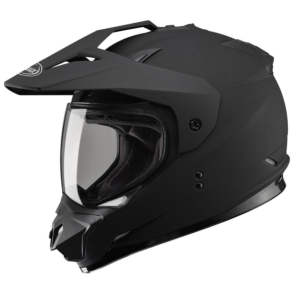 Gmax G5115077 Dual Sport Solid Helmet
