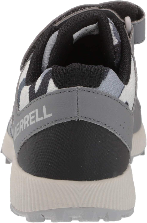 Merrell unisex child Nova 2 Hiking Shoe 4 Wide Big Kid US Winter Camo