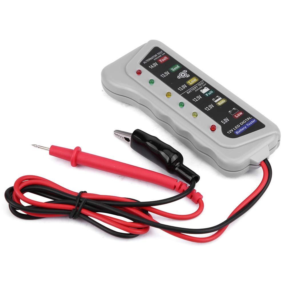 Lagerung//Wartung Ladeger/ät System Analyzer Checker Tool. Autobatterie-Tester 1 PC von 2-14,8 V Auto Van Auto-Batterie-Tester
