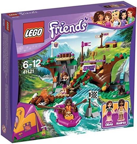 LEGO - 41121 - Friends - Jeu de Construction - Rafting à La Base d'Aventure