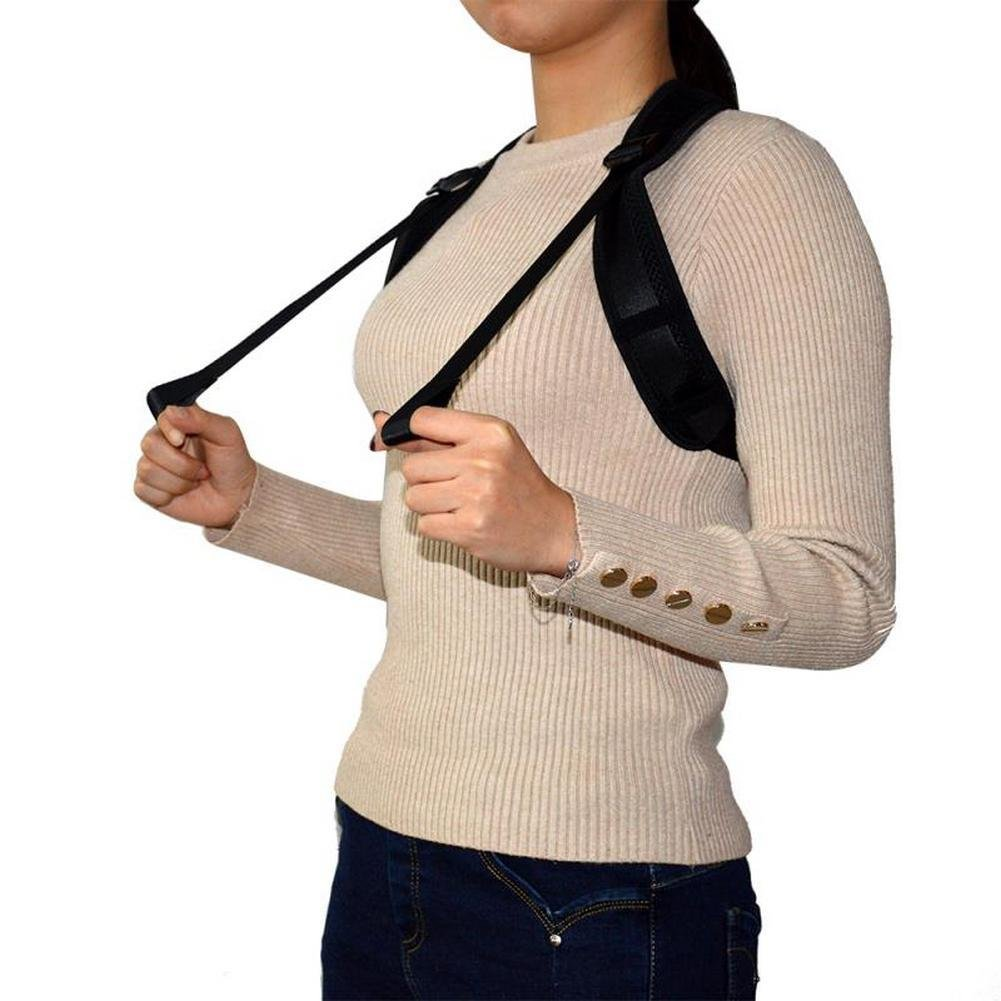 WAIPOO Back Posture Corrector for Women & Men,Effective Adjustable Posture Correct Brace, Clavicle Support Brace for Slouching,Upper Back Pain Relief, 30 Day Money Back Guarantee