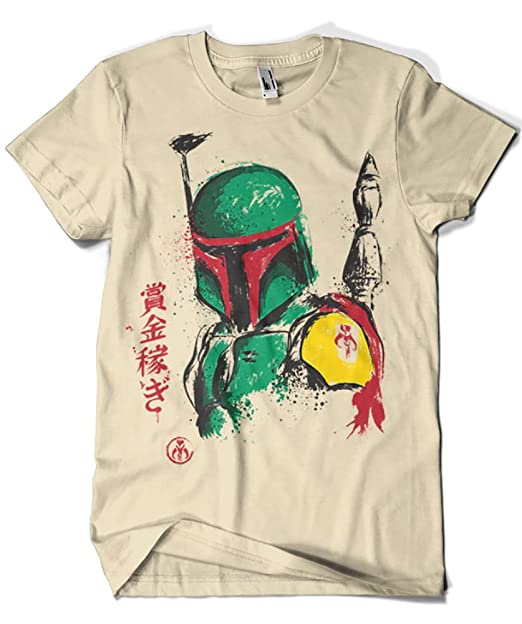 1102-Camiseta Star Wars - Bounty Hunter (Dr.Monekers)