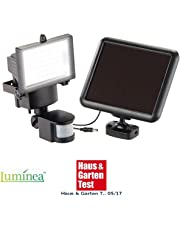 081 Store - Faretto da esterno a led con pannello solare e sensore di movimento